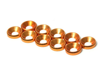 M3 CS Washer 10pcs (Gold) by JQRacing