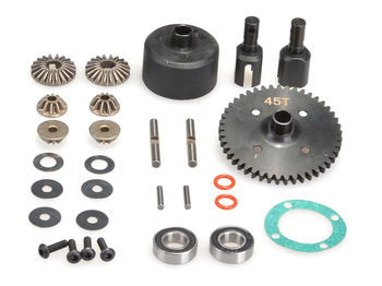 Complete Centre Diff (45t) by JQRacing