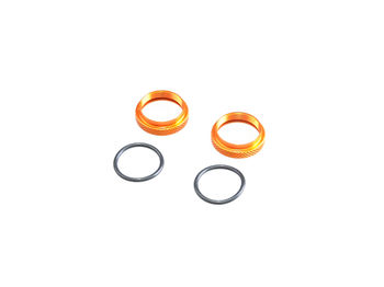16mm RH Nut for Shocks 2pcs (BE, WE) by JQRacing